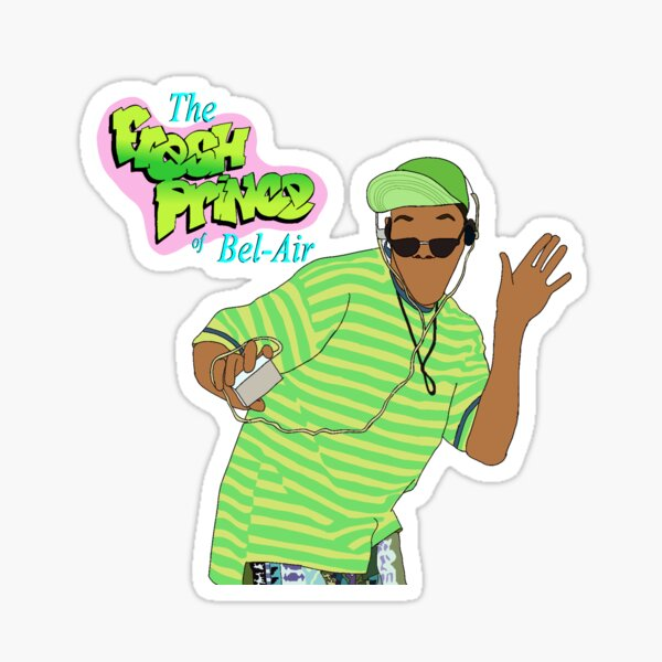 Fresh Prince of Bel-Air Stickers/Magnet/Phone wallet/ face mask/backpack Sticker