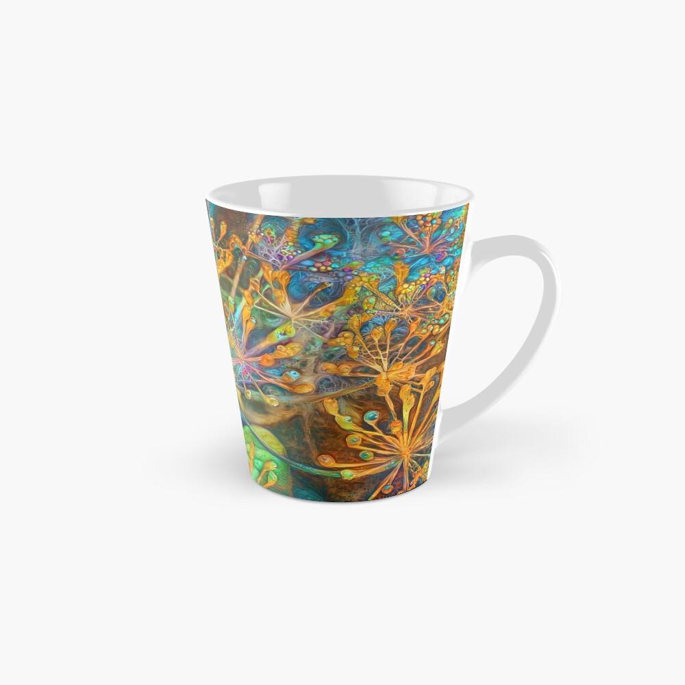 Floral deep dream Abstraction Mug
