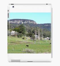 Farming near Ilford, N.S.W. Australia iPad Case/Skin