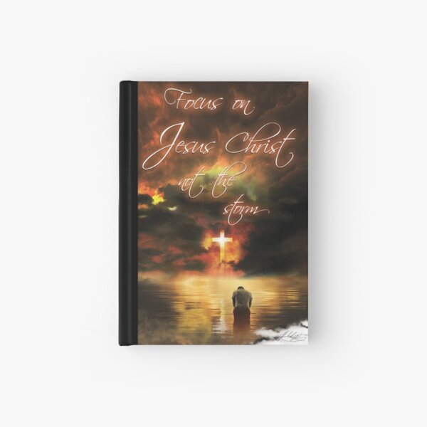 Focus on Jesus Hardcover Journal