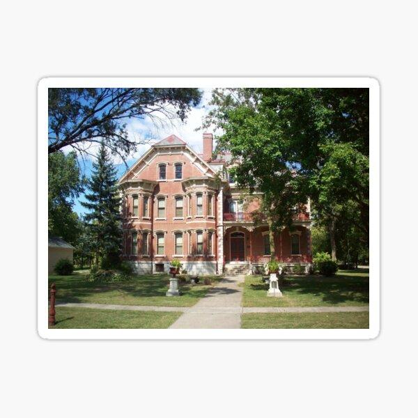Historic Altamont Wright's Mansion Sticker