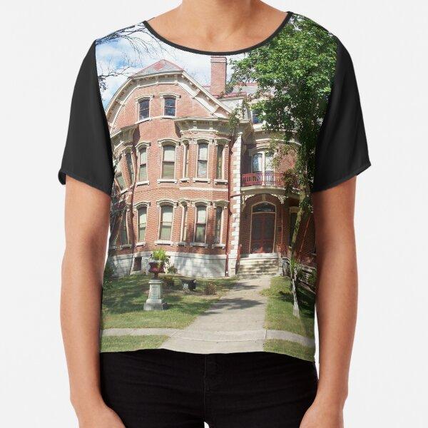 Historic Altamont Wright's Mansion Chiffon Top