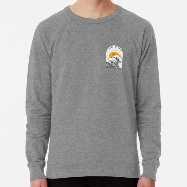 Start the Wave - Ocean Design Lightweight Sweatshirt
