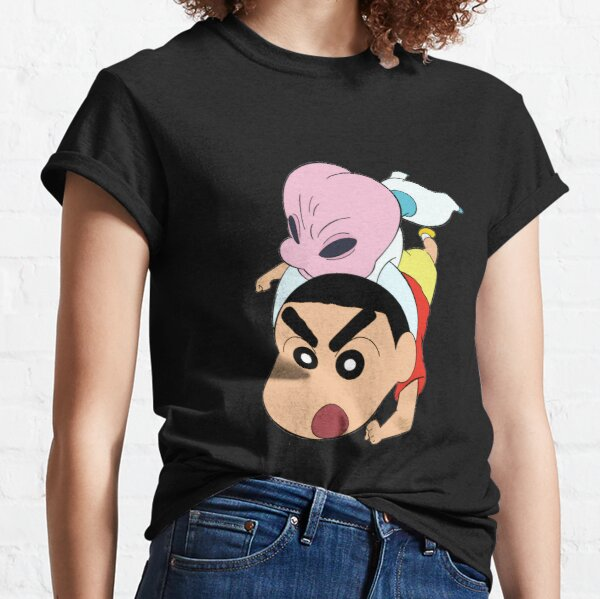 Triste shin chan Camiseta clásica