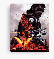 Metal Gear Solid V - The Phantom Pain Canvas Print