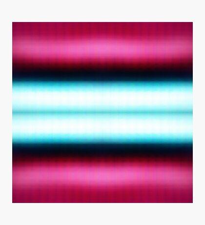 Pinky-blue Photographic Print