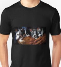 Safe In The Arms Of Love - Puppy Art Unisex T-Shirt