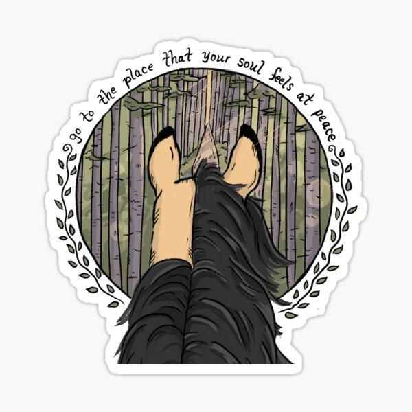 Peaceful Soul Sticker