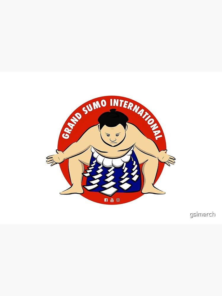 Grand Sumo International Yokozuna Logo by gsimerch