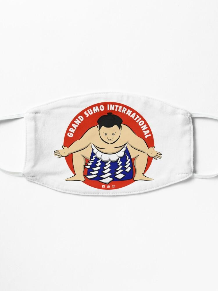 Alternate view of Grand Sumo International Yokozuna Logo Mask