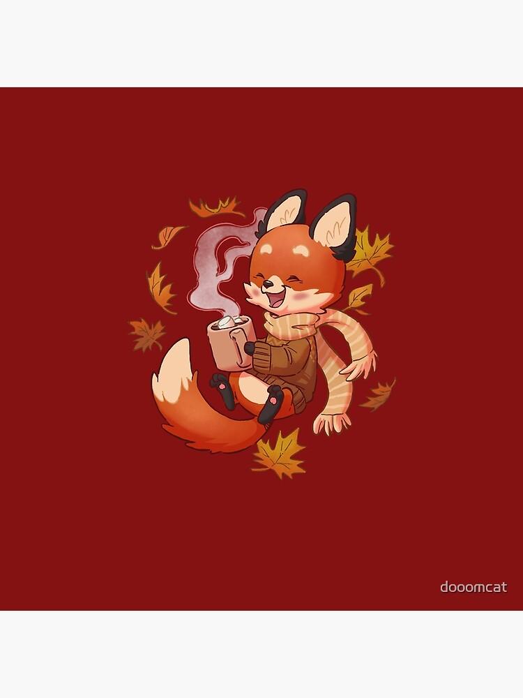 Cozy Fox Fall by dooomcat