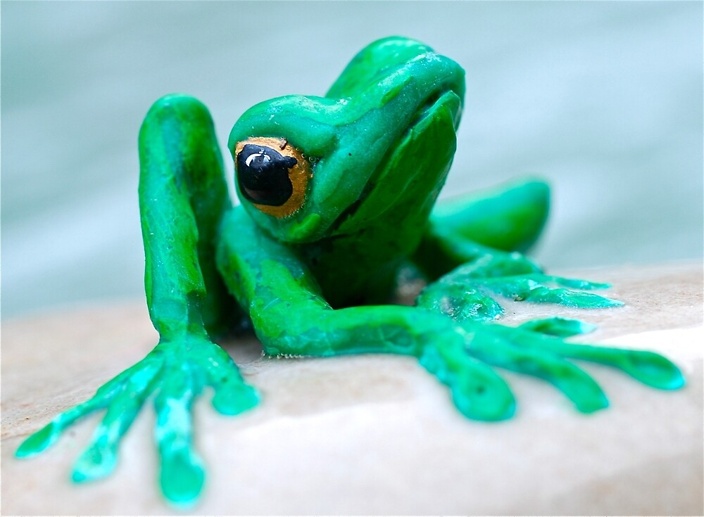 Frog Statue by Penny Smith