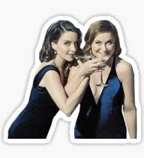 Tina Fey and Amy Poehler Sticker
