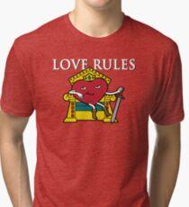 Love Rules Tri-blend T-Shirt