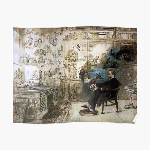 Dickens Dream - Robert William Buss - 1875 Poster