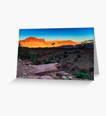 Sunset at Capitol Reef Greeting Card