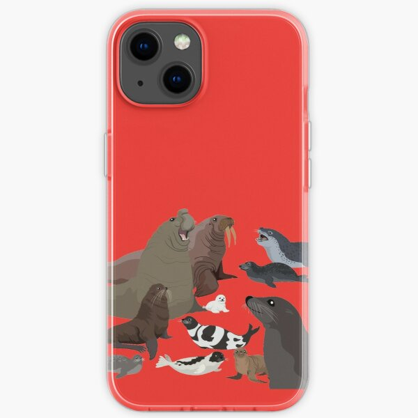 I Am Thankful For Pinnipeds iPhone Soft Case