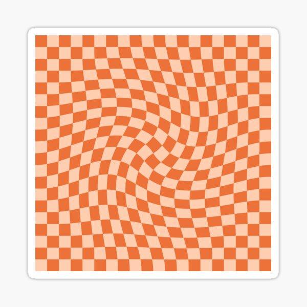 Check IV - Orange Twist Sticker