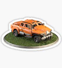 Futuristic Transport Vehicle Sticker