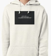Earl Sweatshirt's I Don't Like Shit, I Don't Go Outside Album Cover Pullover Hoodie