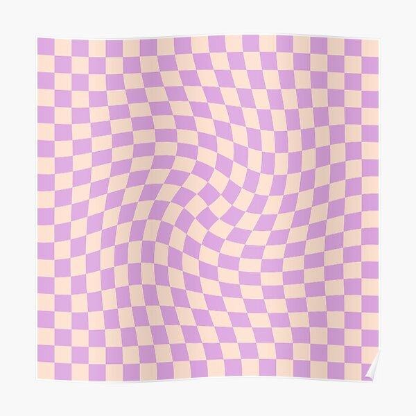 Check V - Lilac Twist Poster