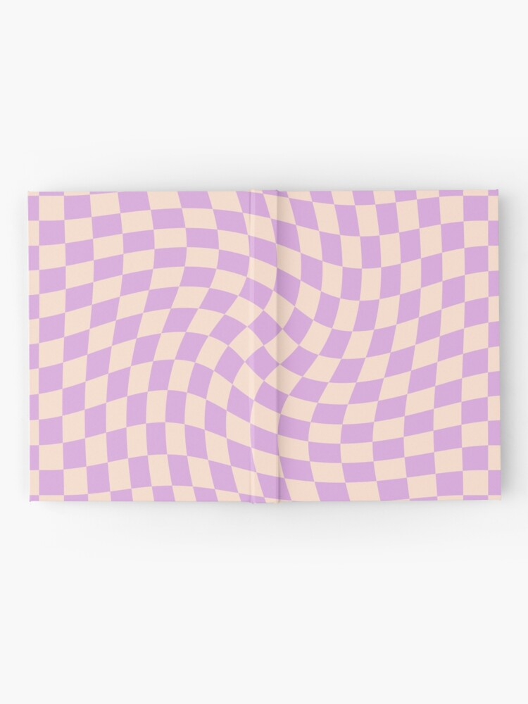 Alternate view of Check V - Lilac Twist Hardcover Journal