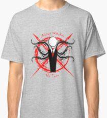 Slenderman- Always Watches, No Eyes Classic T-Shirt