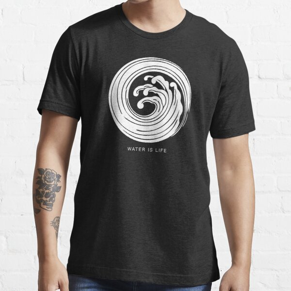 White Wave | Water is life Essential T-Shirt