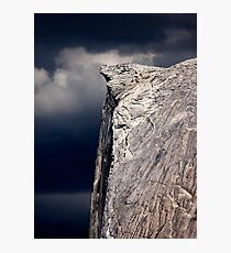 Climbers On Half Dome 2 Photographic Print