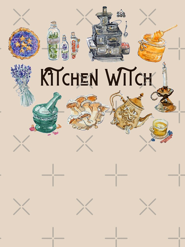 Kitchen Witch Emblem  by WitchofWhimsy