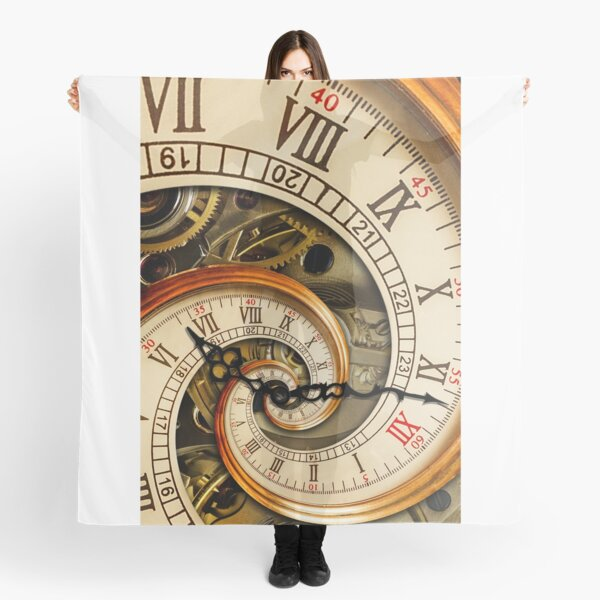 The Clock of the Spiral Whirlpool of Time. Scarf