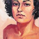 Portrait of Elisa by Roz McQuillan