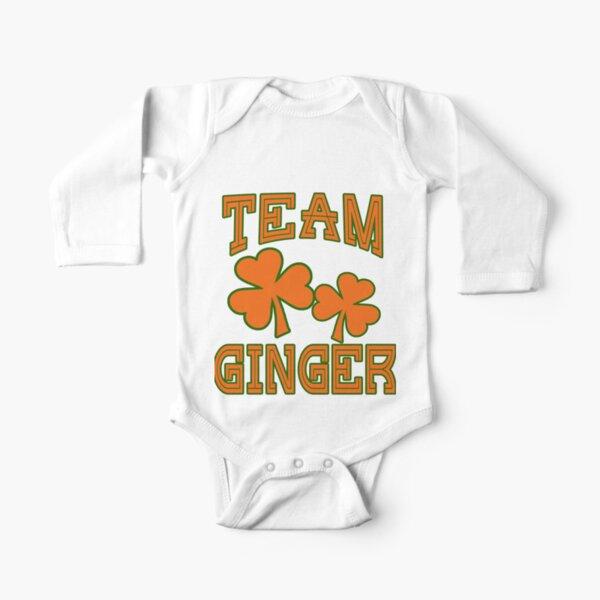 Ginger Pride Orange Soft Baby One Piece St Patricks Day
