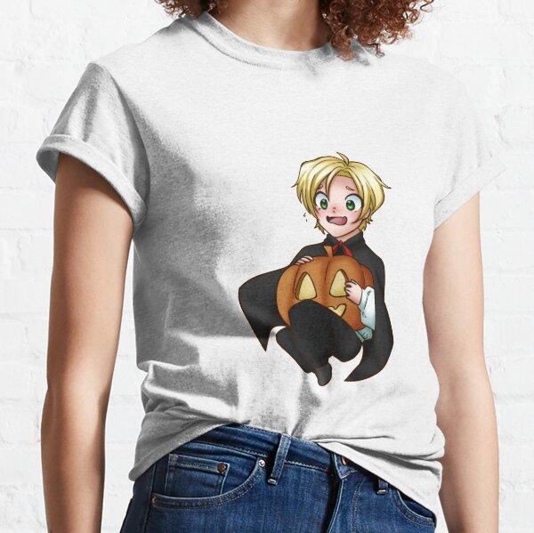 Banana Fish Ash Lynx exclusive chibi pumpkin fear Classic T-Shirt