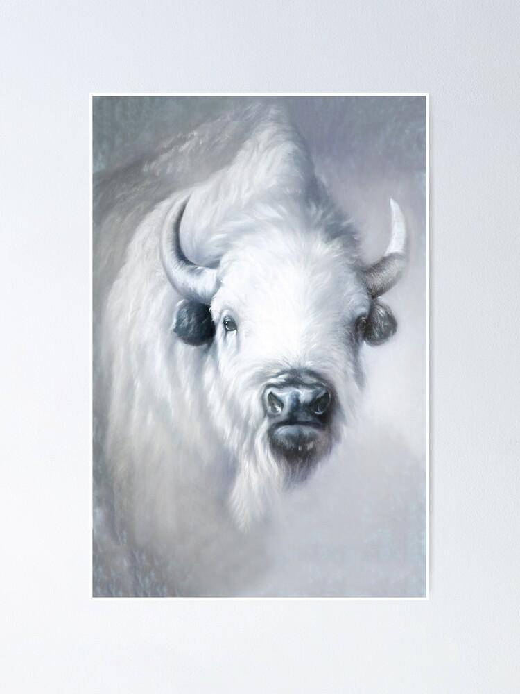 Alternate view of White Buffalo, White Bison: sanctity Poster