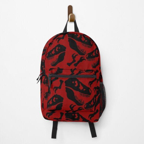 Black Skull Pattern Backpack