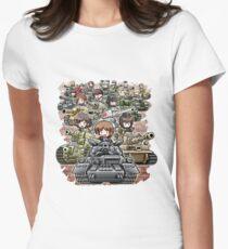 Girls und Panzer Crew T-Shirt