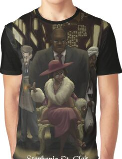 Stephanie St. Clair - Rejected Princesses Graphic T-Shirt