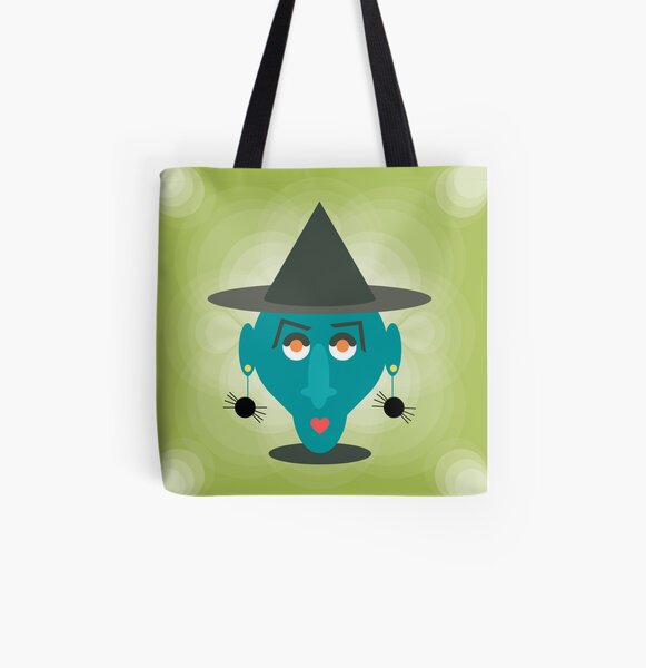 Bewitched All Over Print Tote Bag