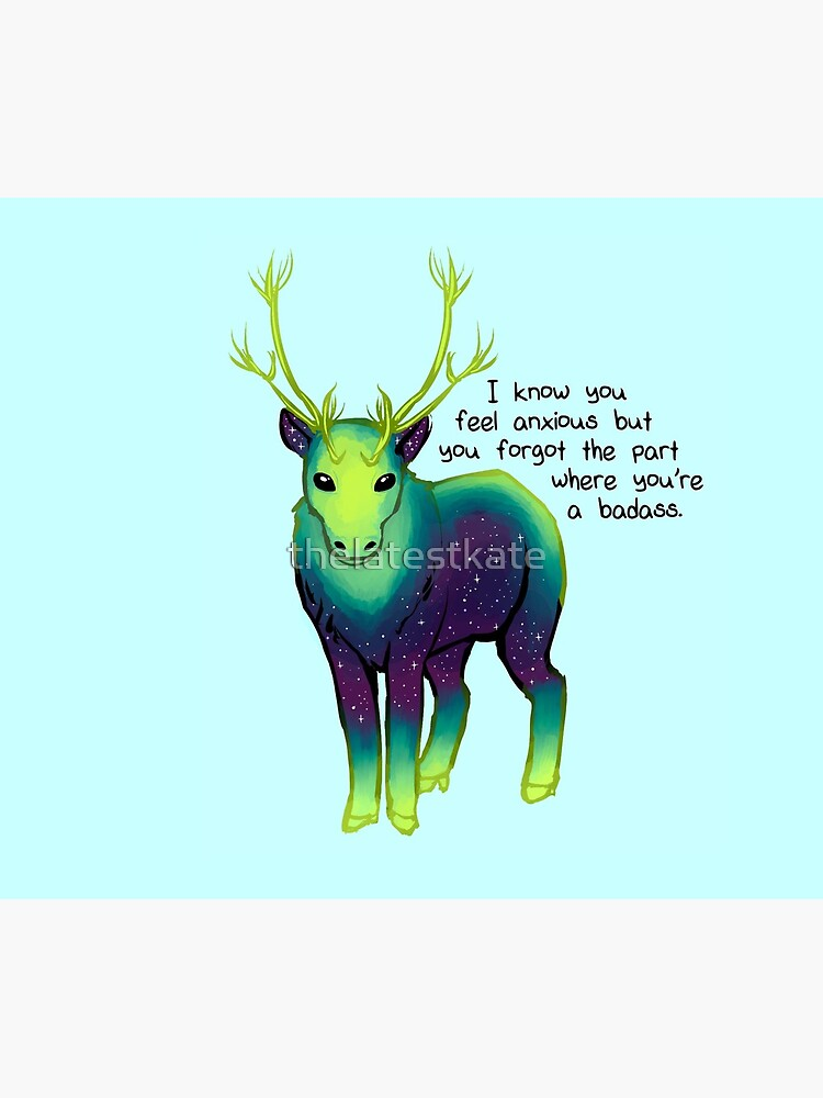 """""""The Part Where You're a Badass"""" Galaxy Caribou by thelatestkate"""