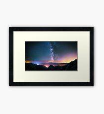 Beautiful Light Pollution Framed Print