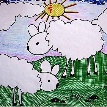 Sheep by Happyart
