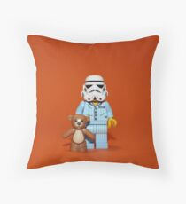 Sleepy Stormtrooper Throw Pillow