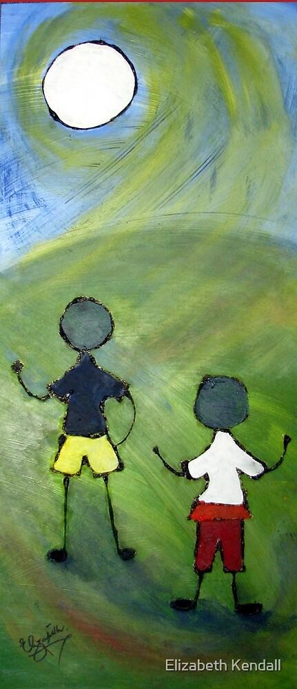Two boys. by Elizabeth Kendall