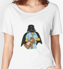 Sleepy Darth Vader Women's Relaxed Fit T-Shirt
