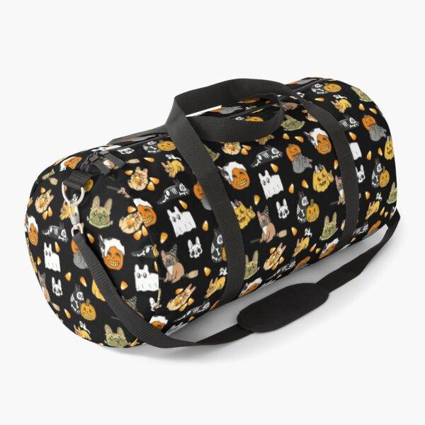 Spooky Frenchies, Black Duffle Bag