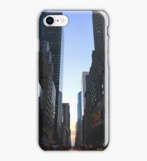 Manhattanhenge iPhone Case/Skin