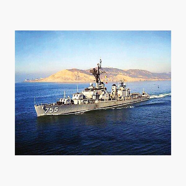 USS JOHN A. BOLE (DD-755) SHIP'S STORE Photographic Print