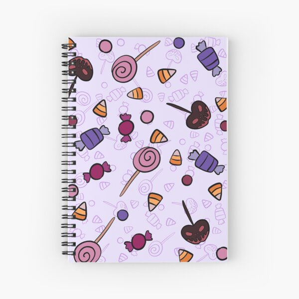 Trick or Treats Spiral Notebook