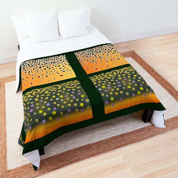The Trout Trinity Comforter